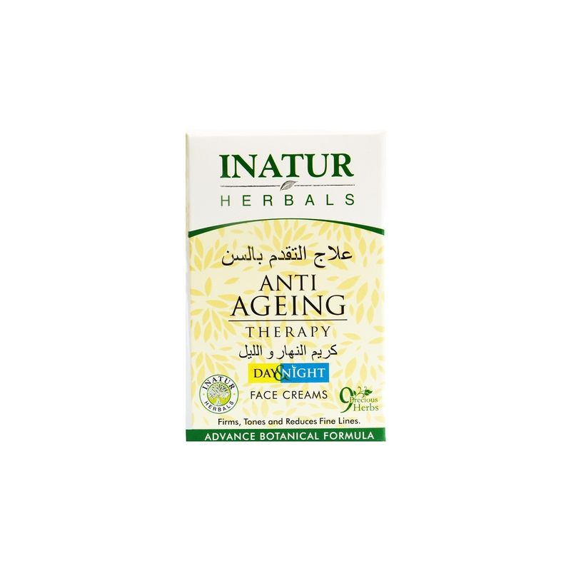 Inatur Anti-Ageing Therapy (Day/Night) Face Cream