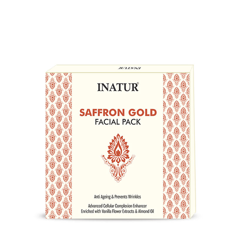 Saffron Gold Dacial Pack Anti Ageing & Prvents Wrinkles