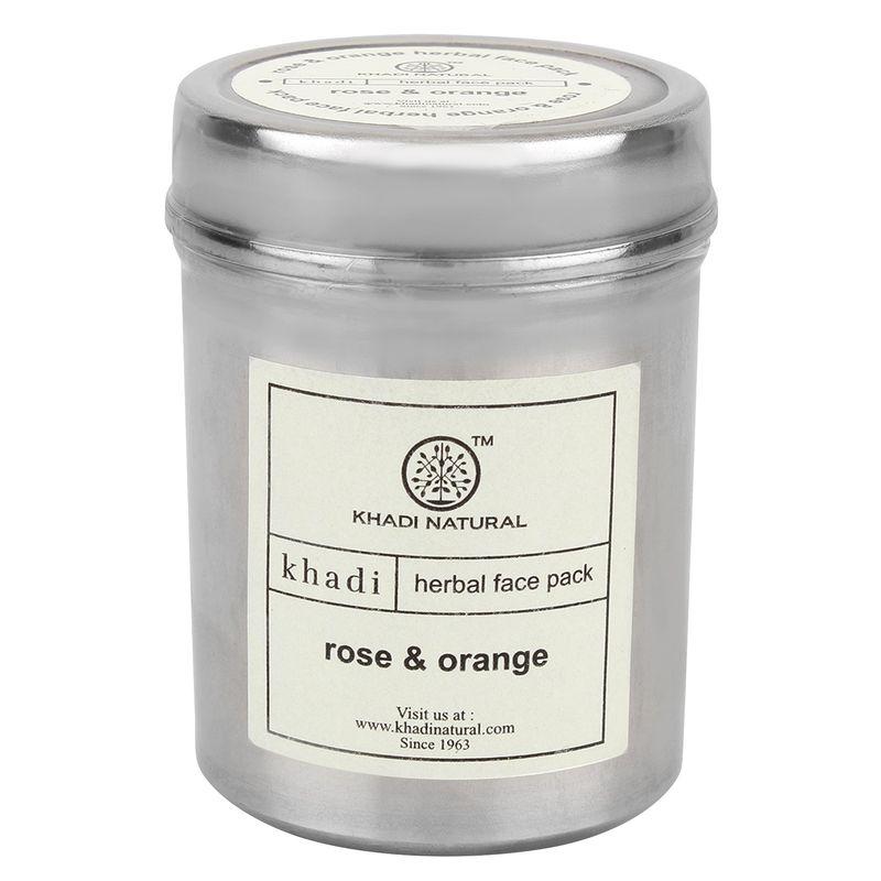 Khadi Natural Rose & Orange Herbal Face Pack