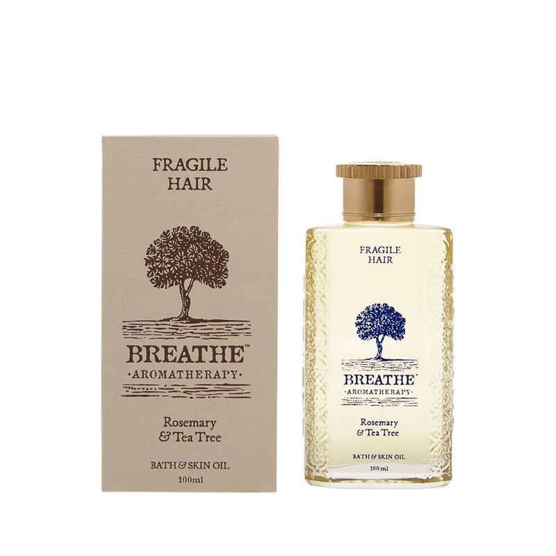 Breathe Aromatherapy Fragile Hair Massage Oil - 100ml