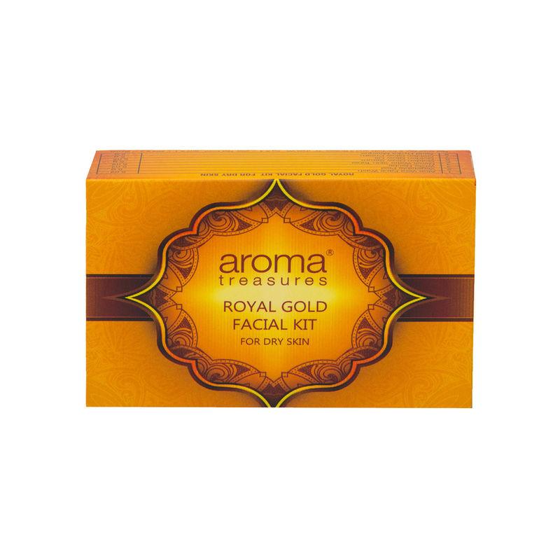 Aroma Treasure Royal Gold Facial Kit For Dry Skin - Single Time