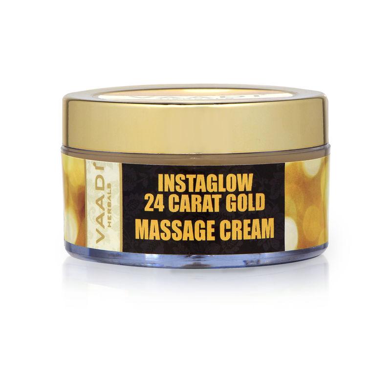 Vaadi Herbals 24 Carat Gold Massage Cream - Kokum Butter