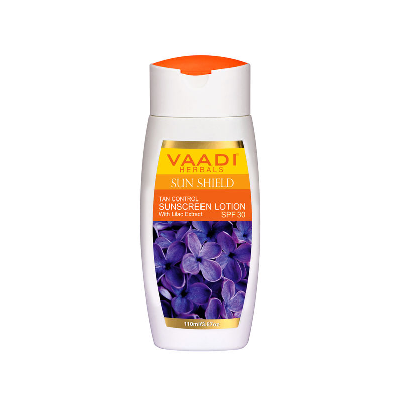 Vaadi Herbals Sunscreen Lotion With Lilac Extract - SPF 30