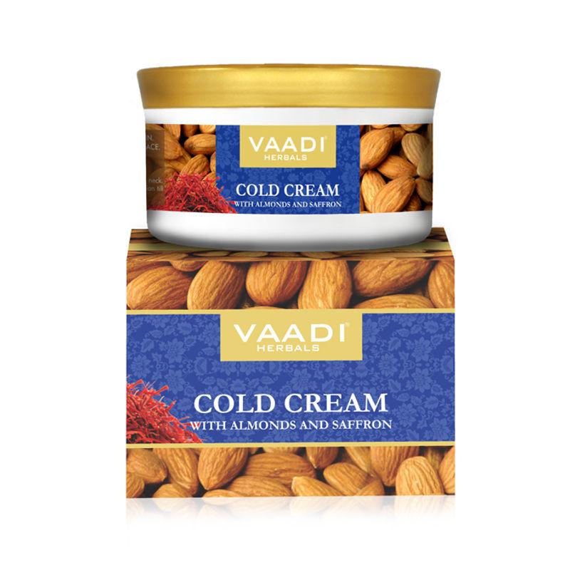 Vaadi Herbals Cold Cream With Almonds & Saffron