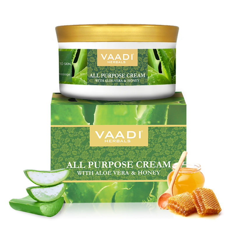 Vaadi Herbals All Purpose Cream With Aloe Vera & Honey