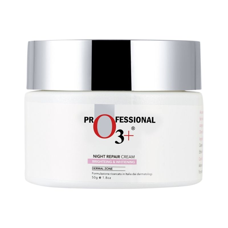 O3+ Skin Care Night Repair Cream Brightening & Whitening Derma Zone