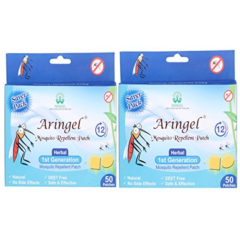 Aringel Mosquito Repellent Patch 1st Generation Pack Of 2