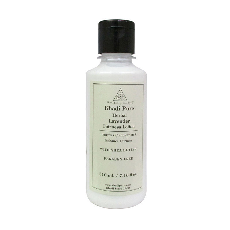 Khadi Pure Herbal Lavender Fairness Lotion With Shea Butter SLS-Paraben Free
