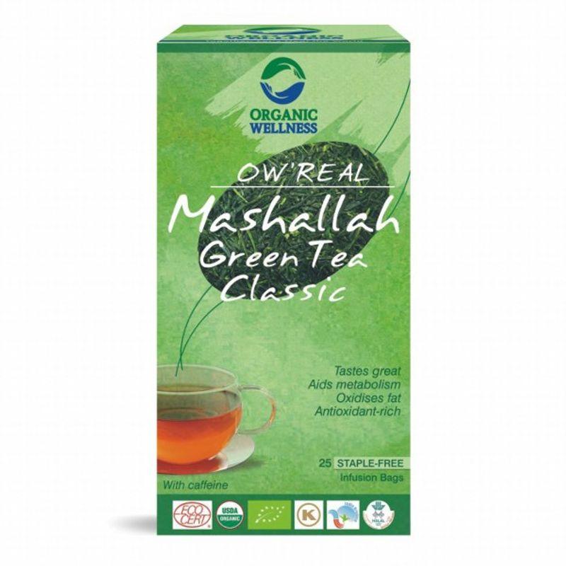 Organic Wellness Real Mashallah Green Tea Classic