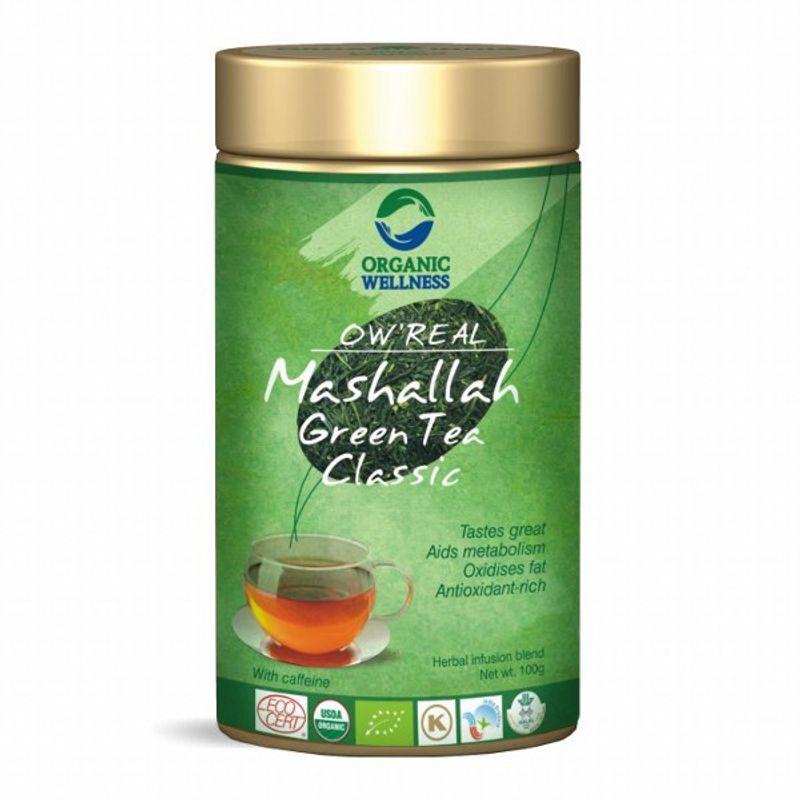 Organic Wellness Real Mashallah Green Tea Classic Tin