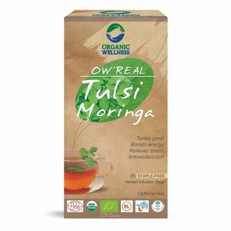 Organic Wellness Real Tulsi Moringa Tea