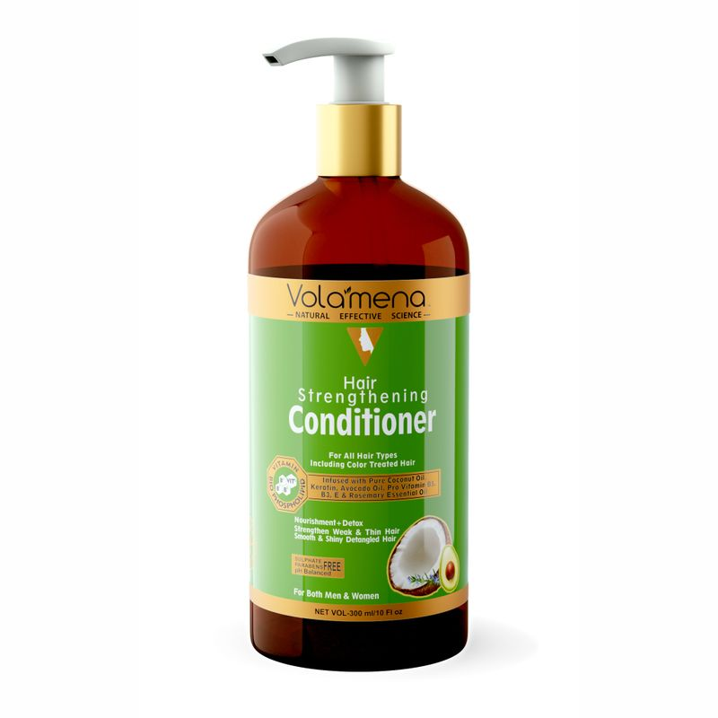 Volamena Hair Strengthening Conditioner (No Sulphate & Parabens, PH Balanced)
