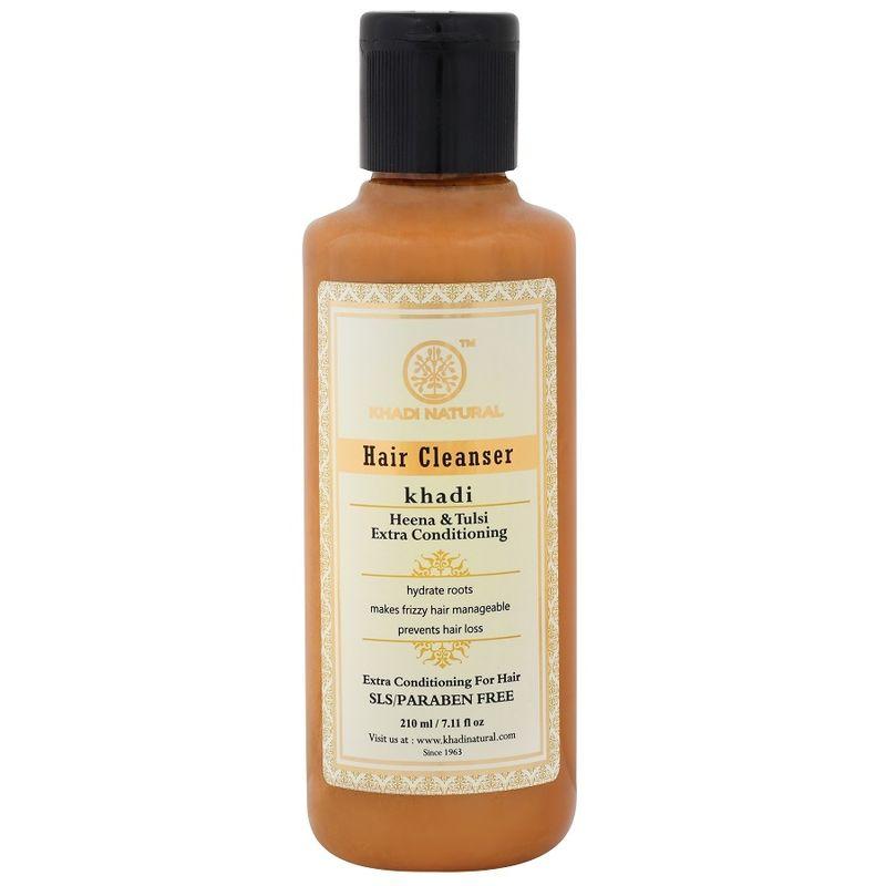 Khadi Natural Henaa Tulsi Extra Conditioning Hair Cleanser