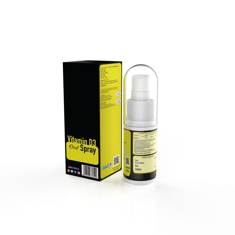 competitive price 9fa2d c1051 FitZup Vitamin D3 Oral Spray at Nykaa.com