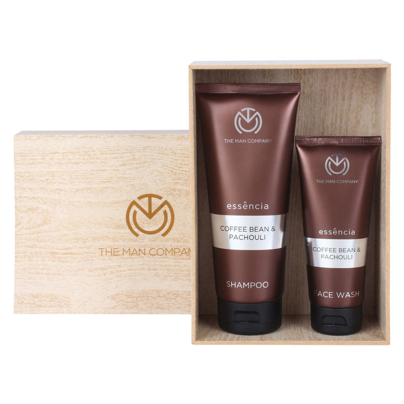 The Man Company Coffee Addiction Face Wash & Shampoo - Set Of 2