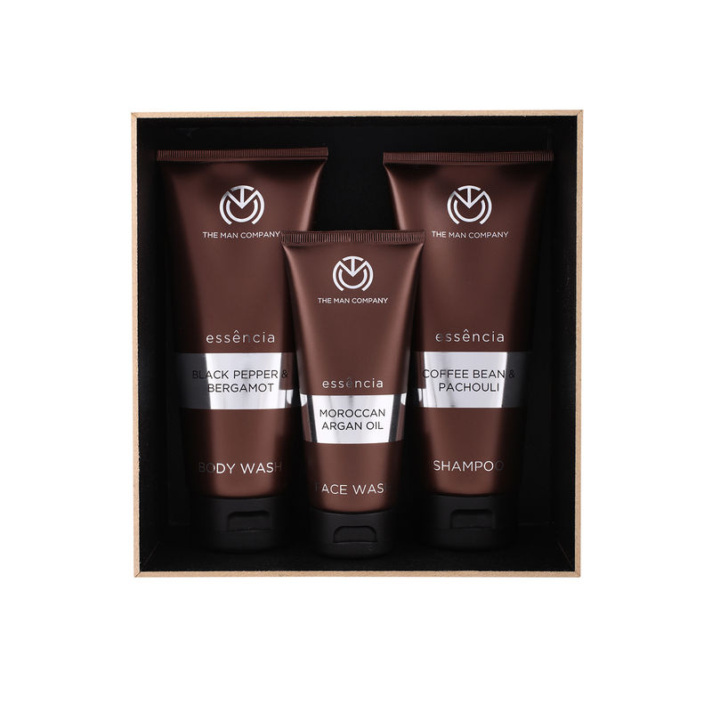 The Man Company Mighty Trio Face Wash, Body Wash & Shampoo - Set Of 3