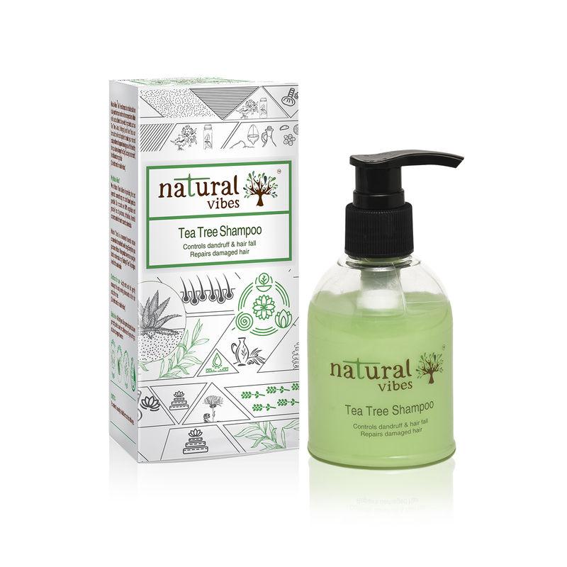 Natural Vibes Ayurvedic Tea Tree Shampoo