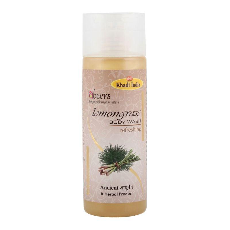 Abeers Khadi Lemongrass Body Wash