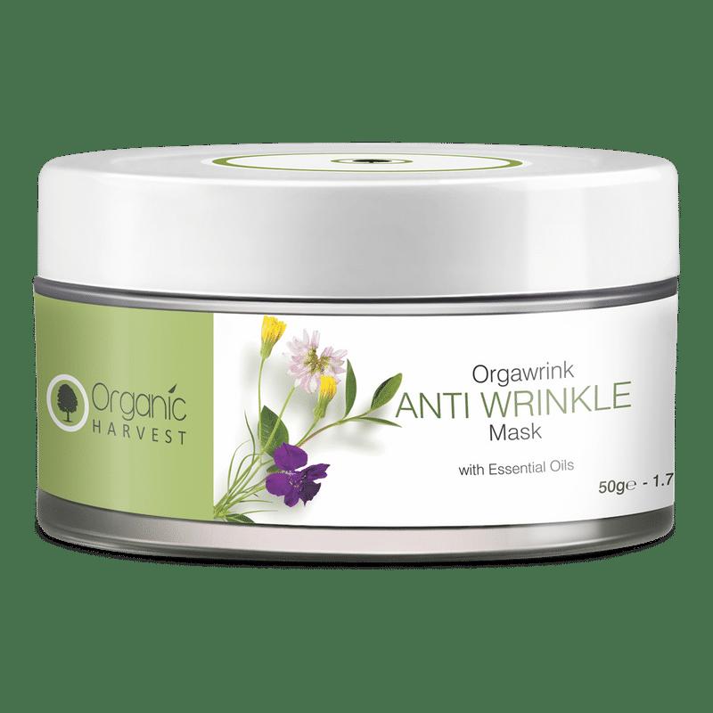 Organic Harvest Face Mask - Anti Wrinkle
