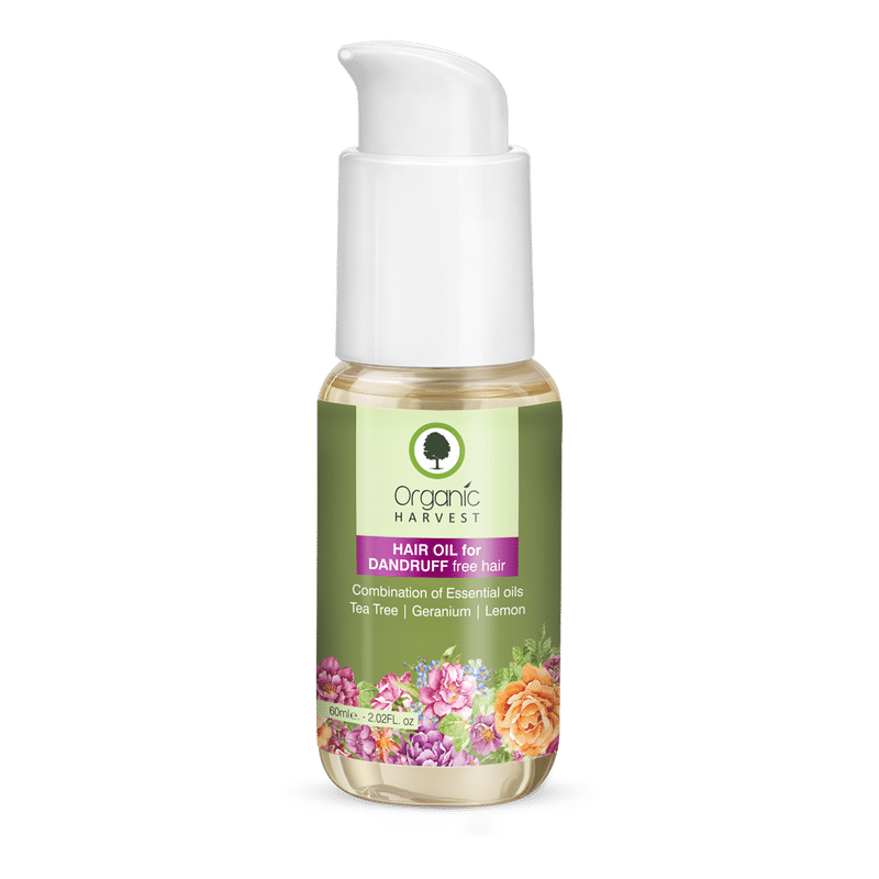 Organic Harvest Hair Oil For Dandruff Free Hair