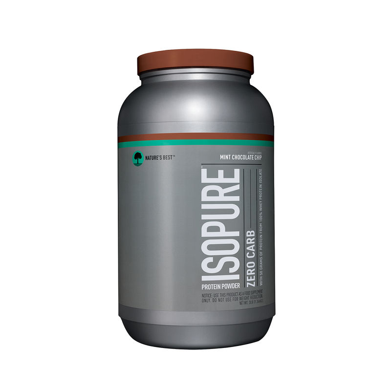 Isopure Zero Carb Protein Powder (Mint Chocolate Chip)