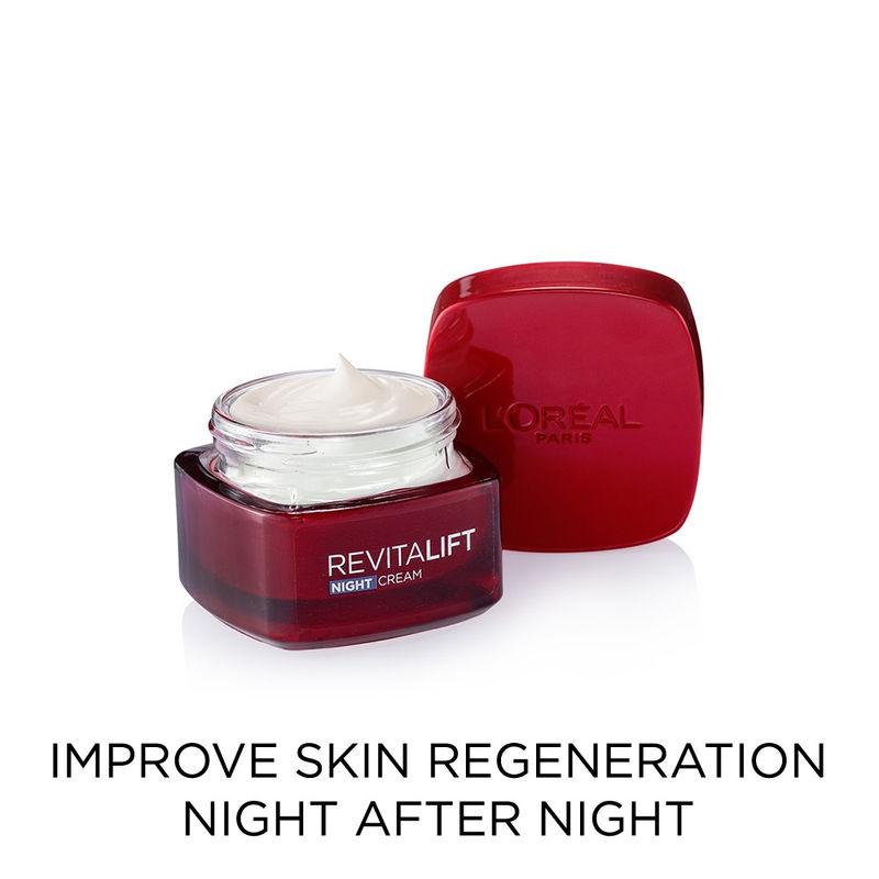 L'Oreal Paris Revitalift Night Cream | Buy L'Oreal Paris Revitalift Night Cream Online in India at best price | Nykaa.com