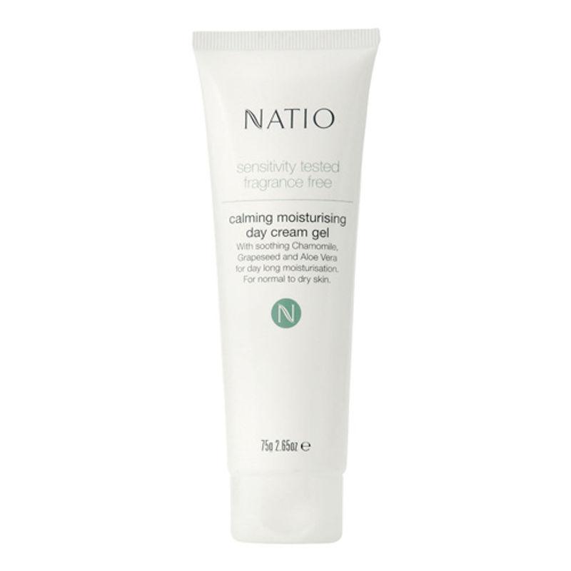 Natio Sensitivity Tested Fragrance Free Calming Moisturising Day Cream Gel