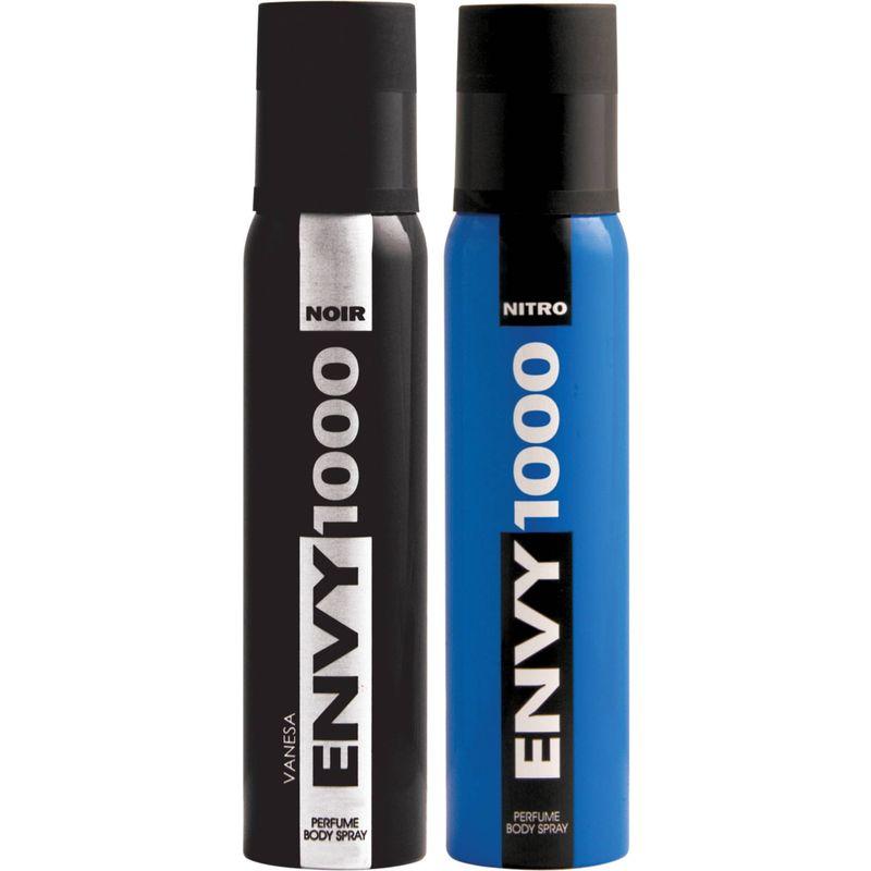 Envy Nitro & Noir Deodorant Combo (Pack Of 2)