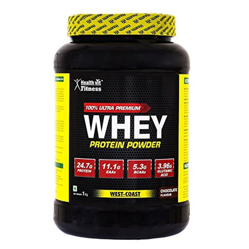 HealthVit 100% Ultra Premium Whey Protein (Chocolate Flavour)