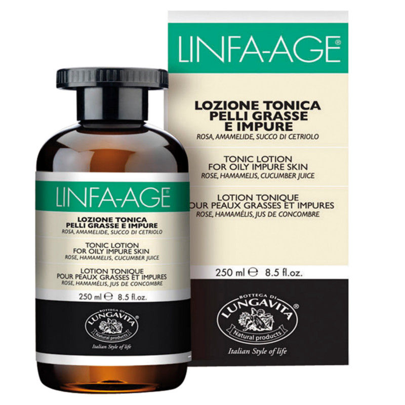 Bottega Di Lungavita Linfa Age Tonic Lotion For Oily Impure Skin