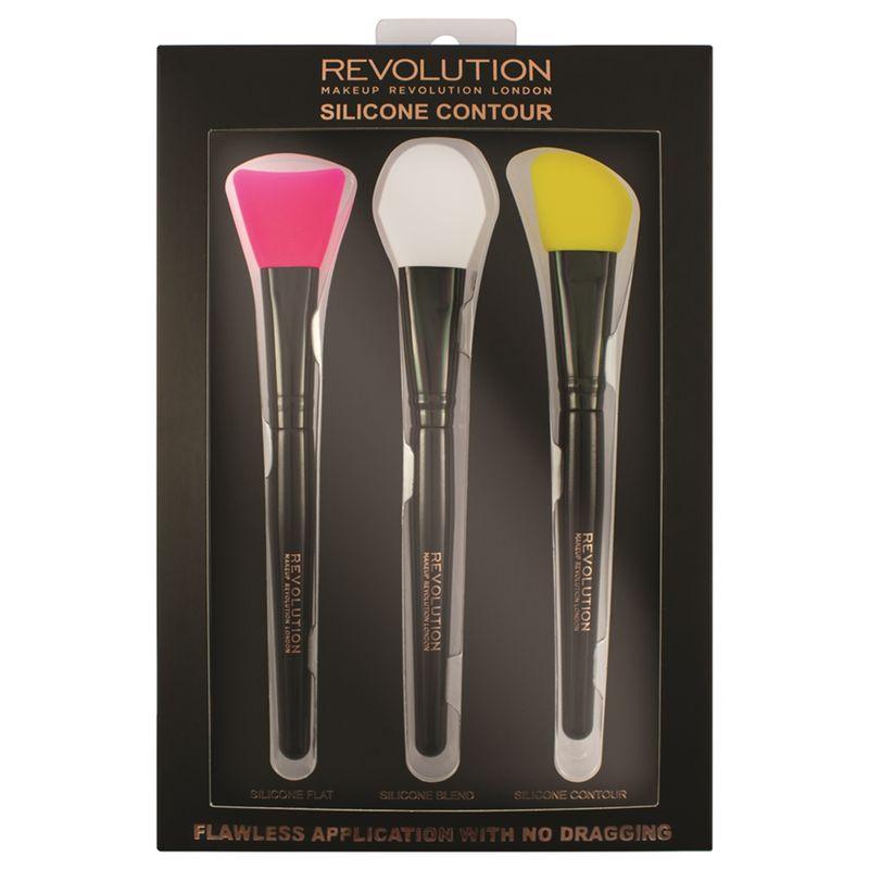 Makeup Revolution Silicone Contour Brush Set