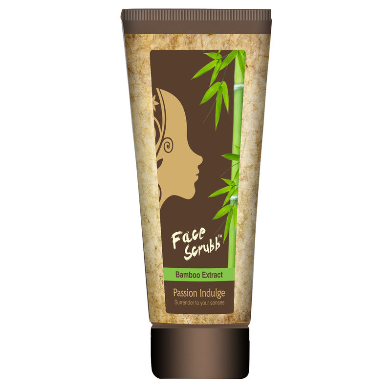 Passion Indulge Bamboo Extract Face Scrubb