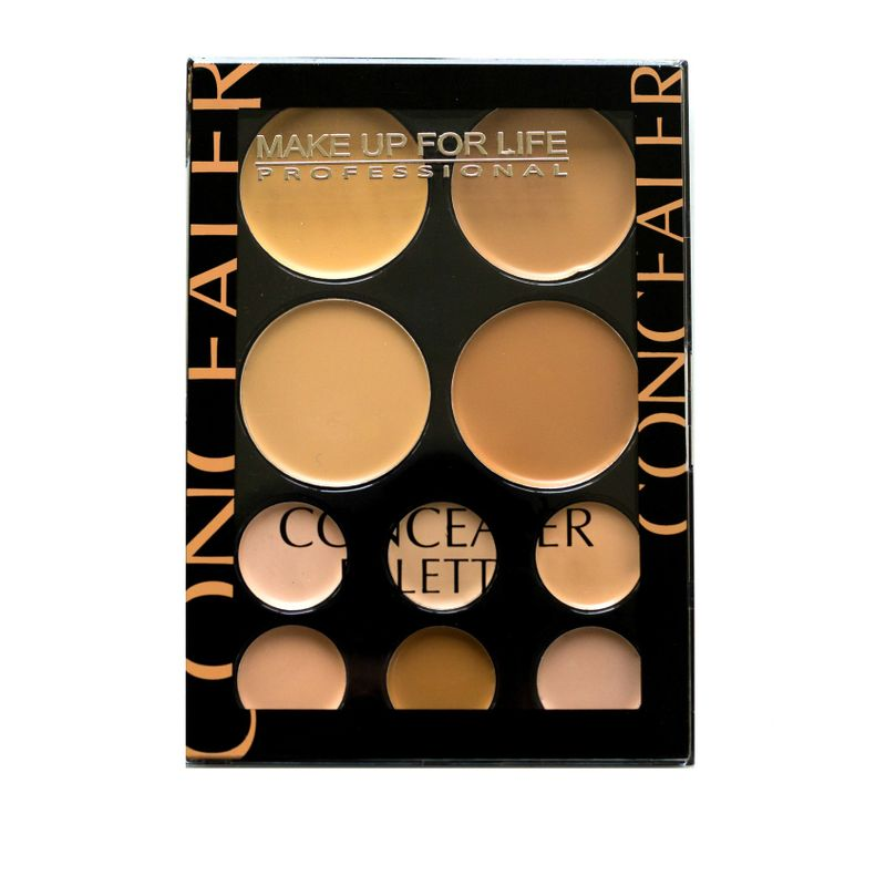 Make Up For Life 10 Color Concealer Palette