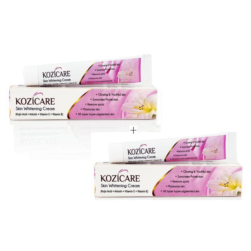 West Coast Kozicare Skin Whitening Cream (Pack Of 2)