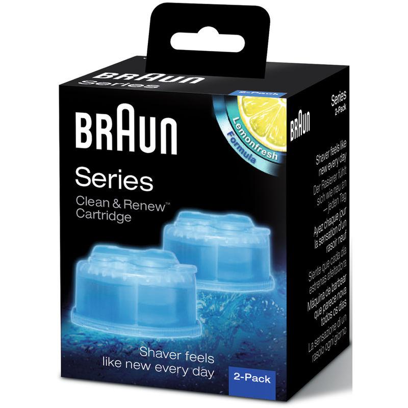 Braun Clean & Renew Refill Cartidges (Pack Of 2)