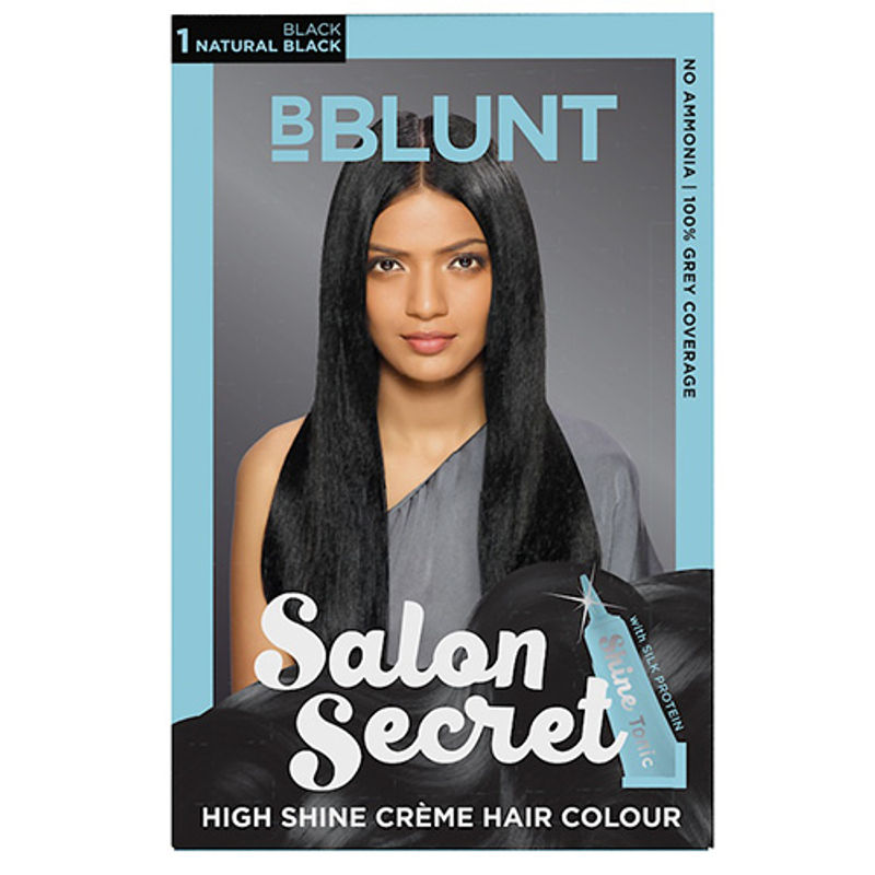 BBLUNT Mini Salon Secret High Shine Creme Hair Colour (Off Rs.4)