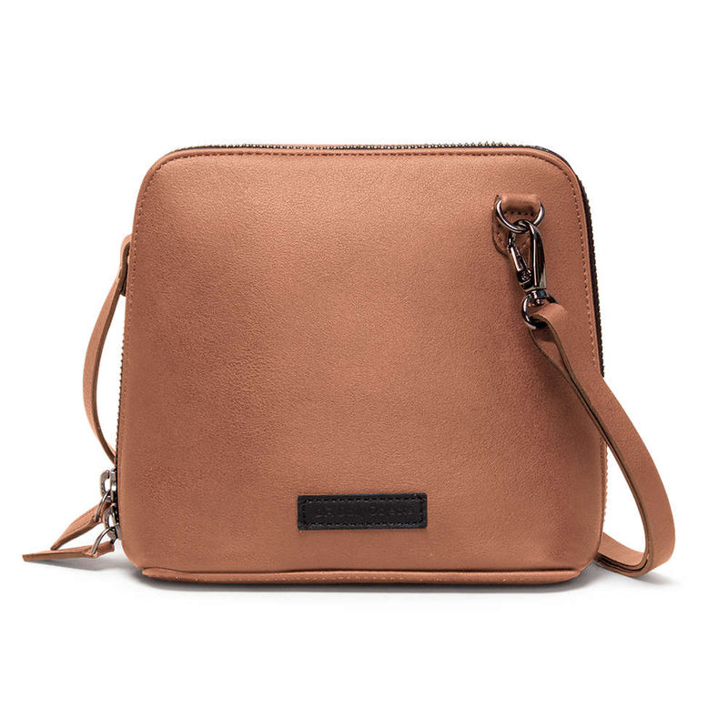 8926799839 DailyObjects Blush Faux Leather - Trapeze Crossbody Bag at Nykaa.com
