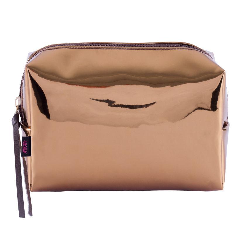 Nykaa Metal Addict Makeup Bag - Gold Glam