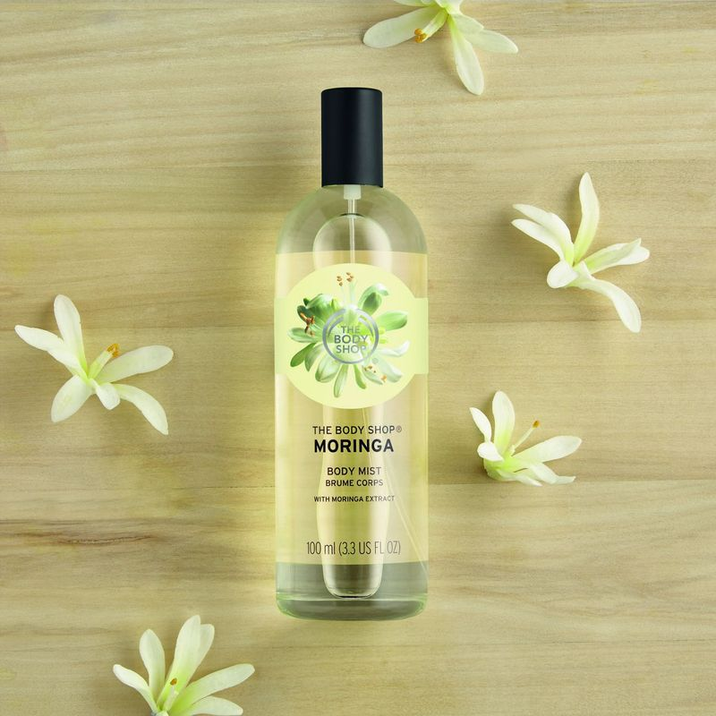 Image result for The Body Shop Moringa Body Mist