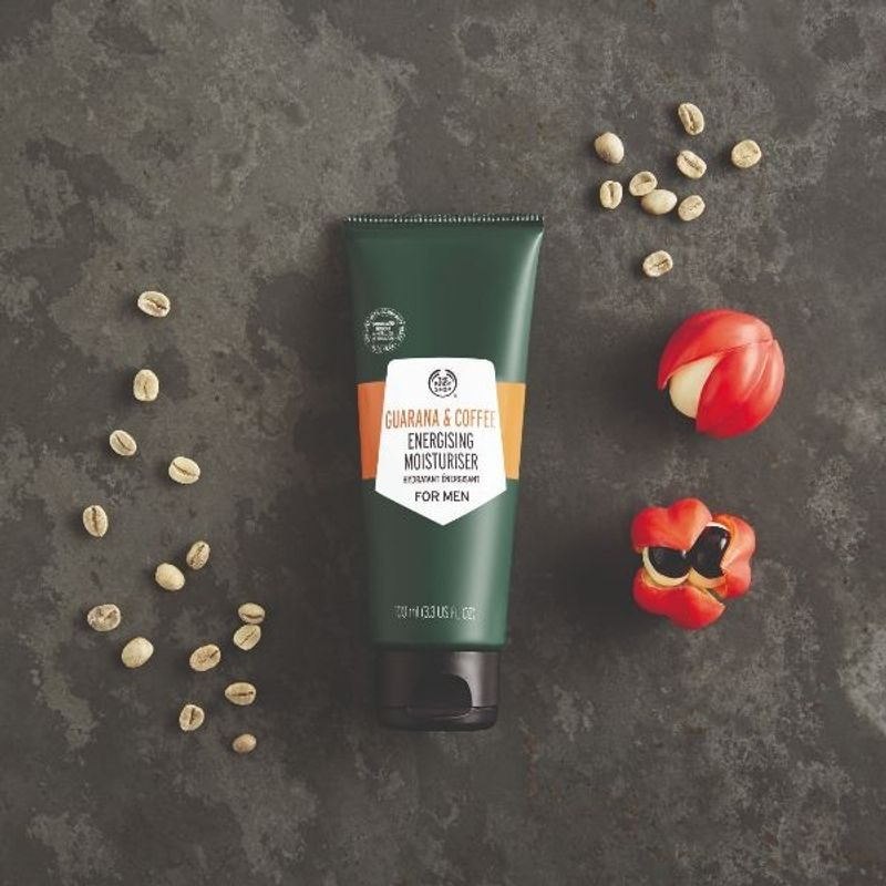 The Body Shop Guarana And Coffee Energising Moisturiser For Men at Nykaa.com