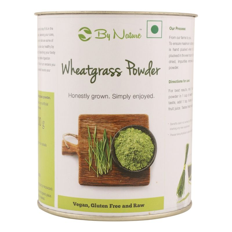 By Nature Wheat Grass Powder