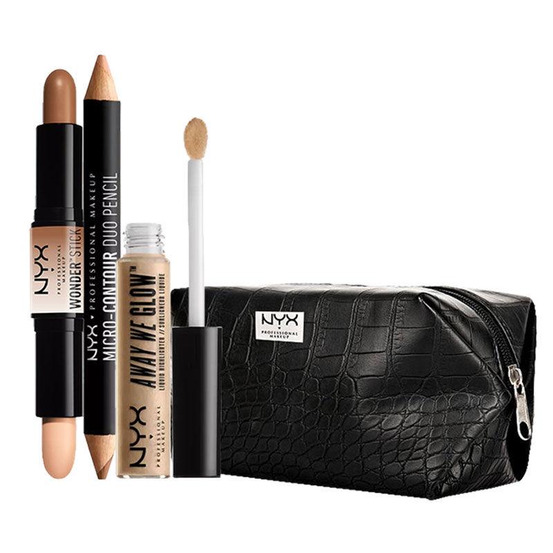 NYX Professional Makeup Contour Goals By Neha Desai Daytime Halo Medium Deep