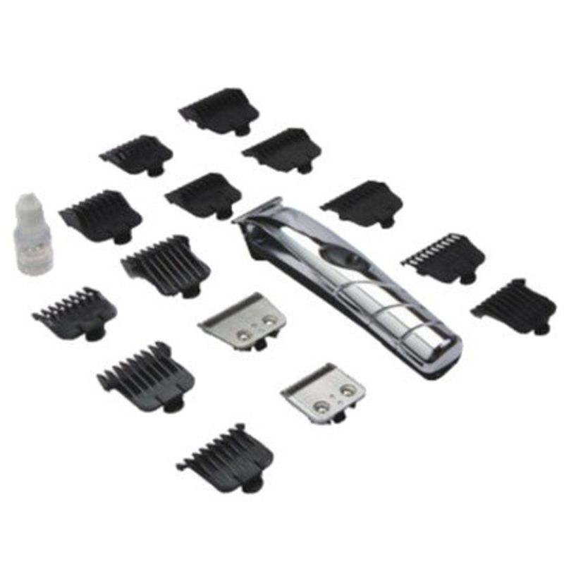 Andis 2-in-1 18-Piece Clipper+Trimmer Cordless Travel Grooming Kit D4D Trimmer For Men