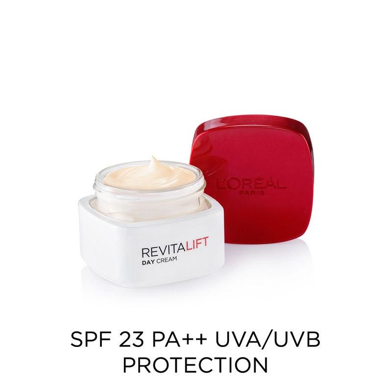 Loreal Paris Anti Ageing - Buy L'Oreal Paris Revitalift Cream SPF 23 Online in India   Nykaa