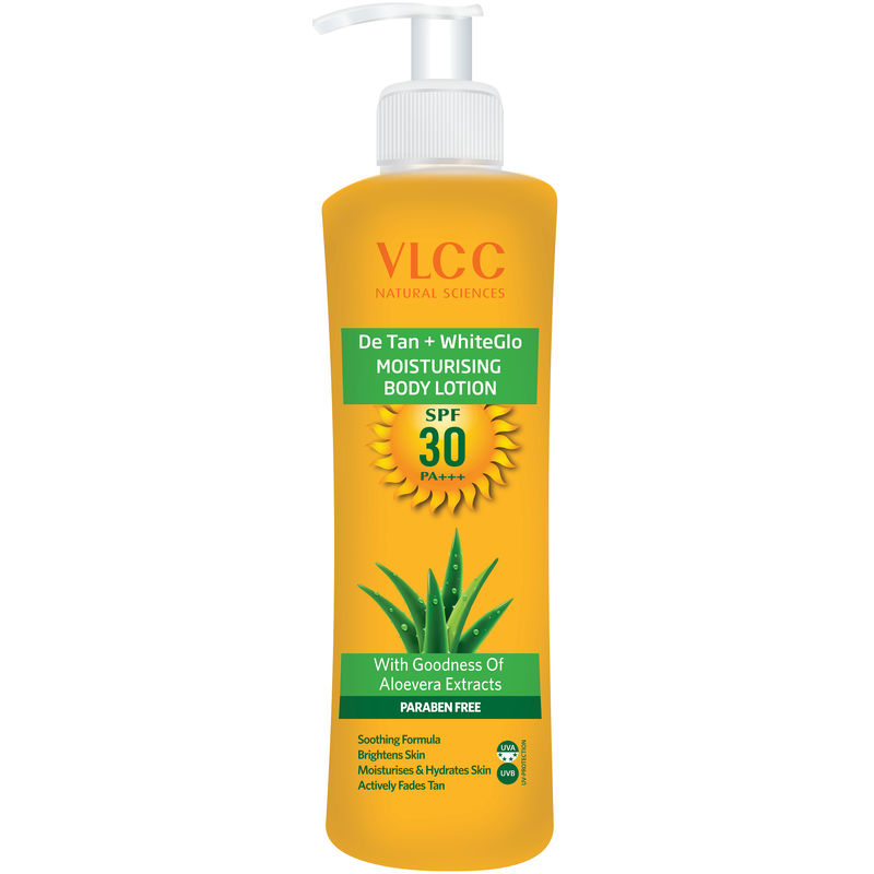 body lotion with spf