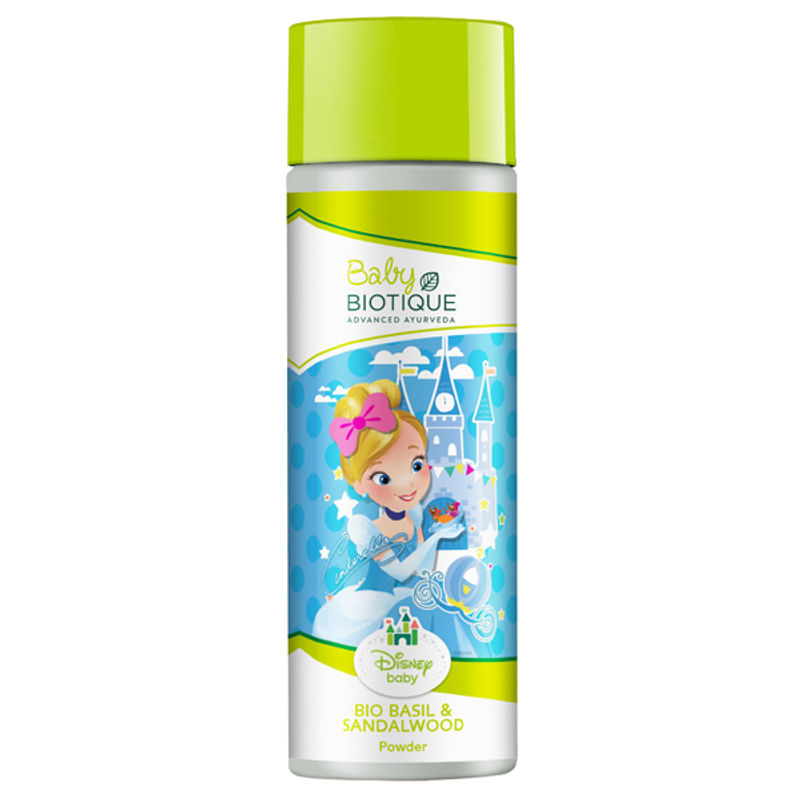 Biotique Disney Baby Girl Bio Basil And Red Sandalwood Powder