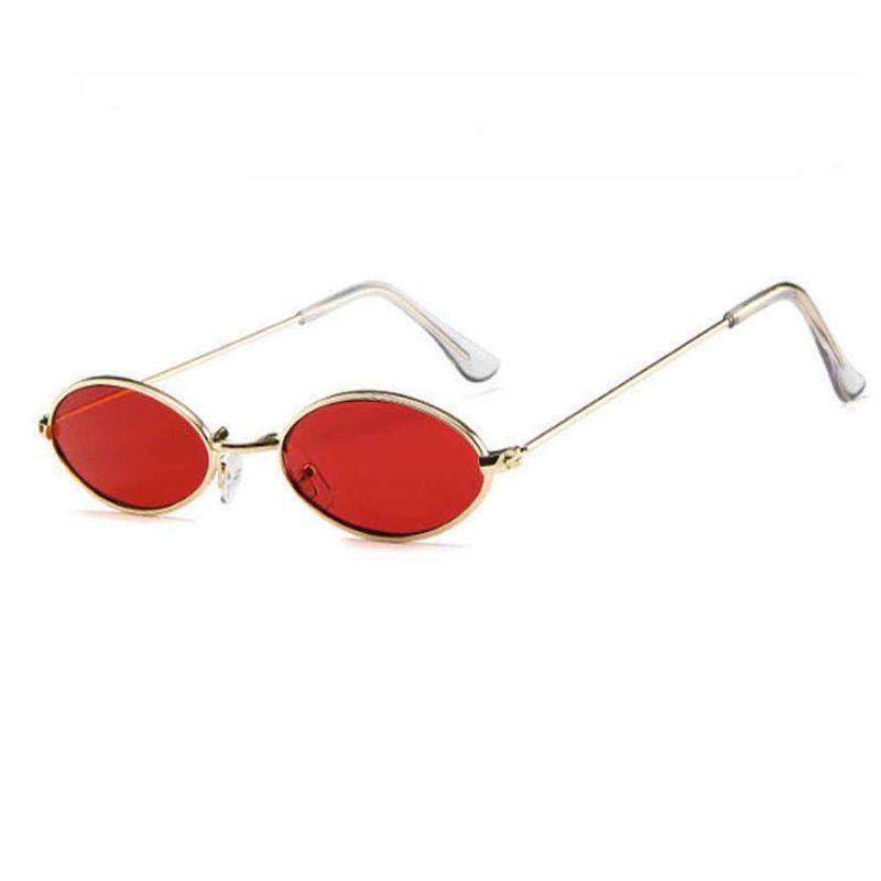 9b4de5bcb1 Ferosh Glorious Oval Red Sunglasses at Nykaa.com