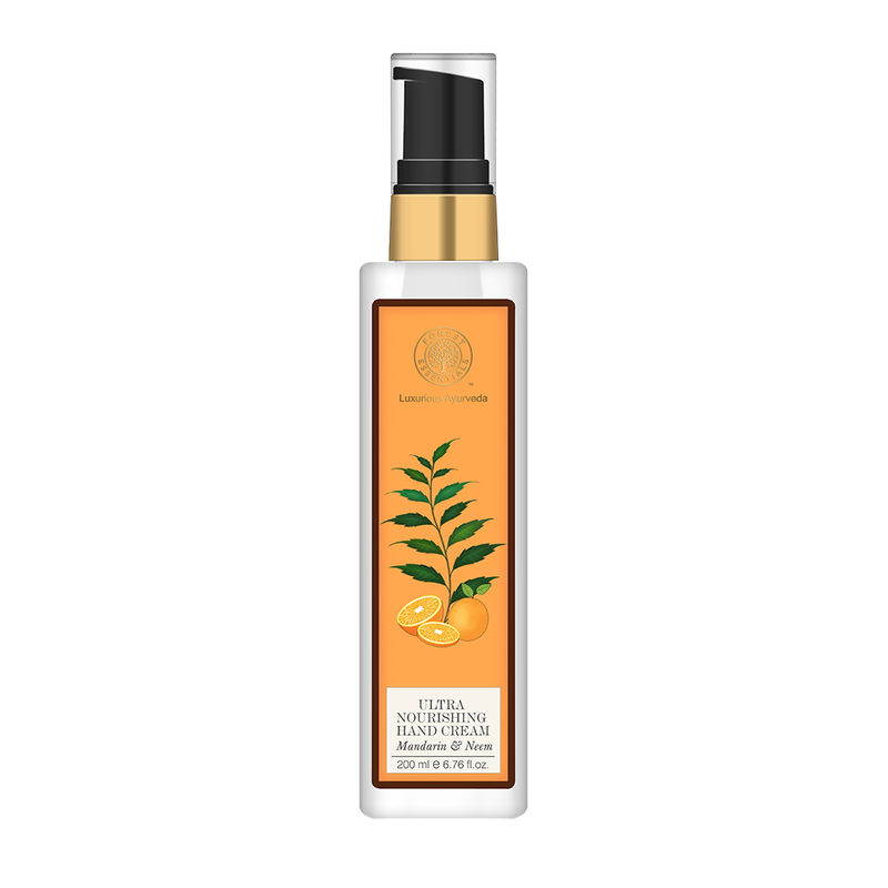Forest Essentials Ultra Nourishing Hand Cream - Neem & Mandarin