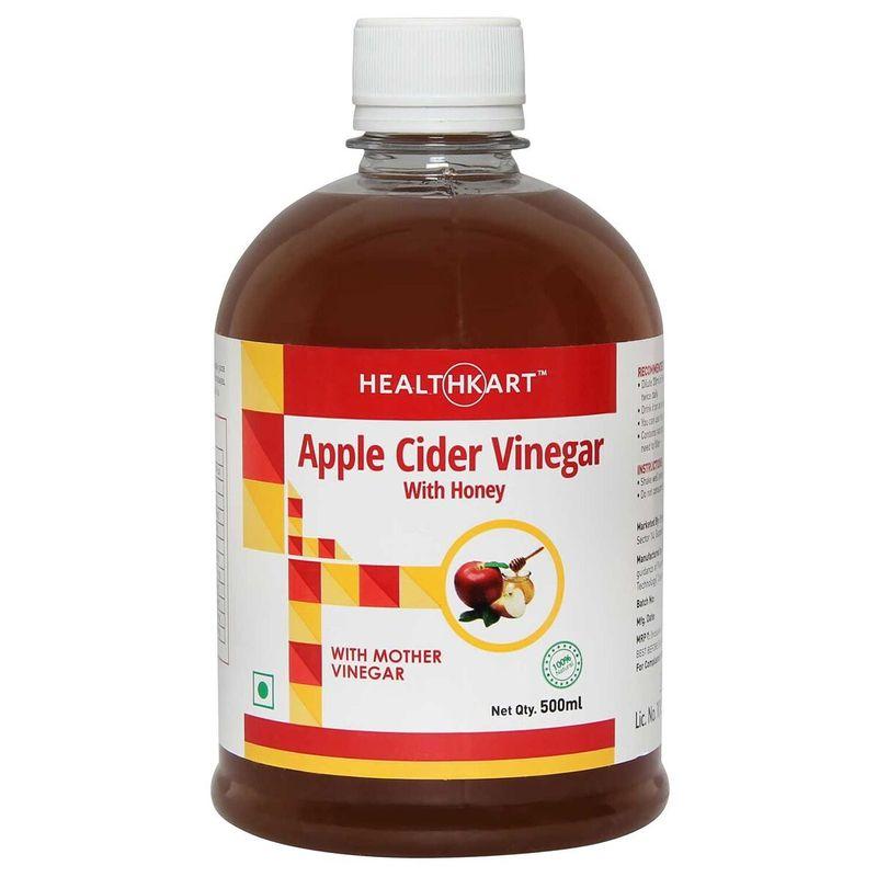 Healthkart Apple Cider Vinegar With Honey Unflavored