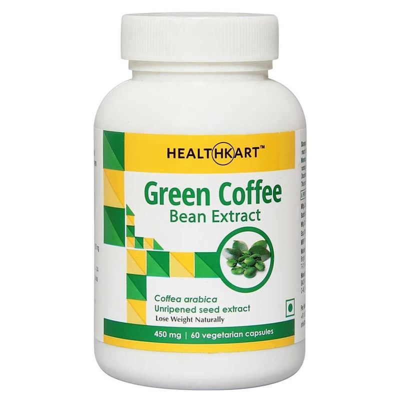 HealthKart Green Coffee Bean Extract 60 Capsules(60 Caps)